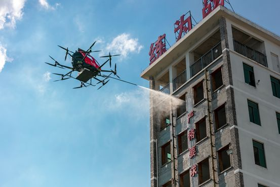 EHang Launches Intelligent Aerial Firefighting Solution