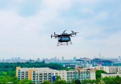 EHang Unveils Heavy-lift AAV for Short-to-Medium-Haul Aerial Logistics
