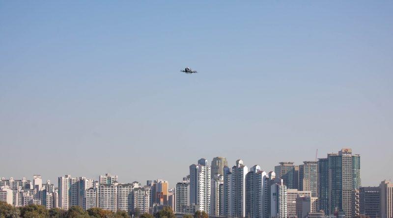 EHang 216 AAV Made Its Debut in Seoul After Obtaining a Special Certificate of Airworthiness from Korea