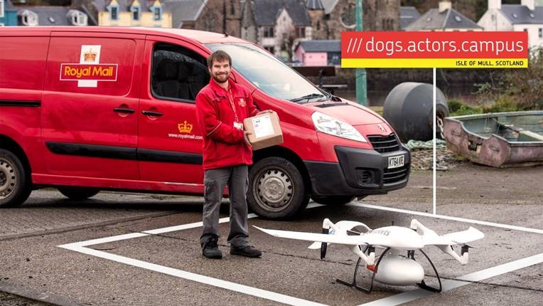 ROYAL MAIL PARTNERS WITH CONSORTIUM TO BECOME FIRST UK PARCEL CARRIER TO USE A DRONE TO DELIVER A PARCEL