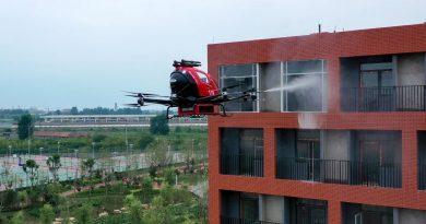 Fire Rescue Drone